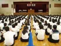 010927後期生徒会役員選挙2